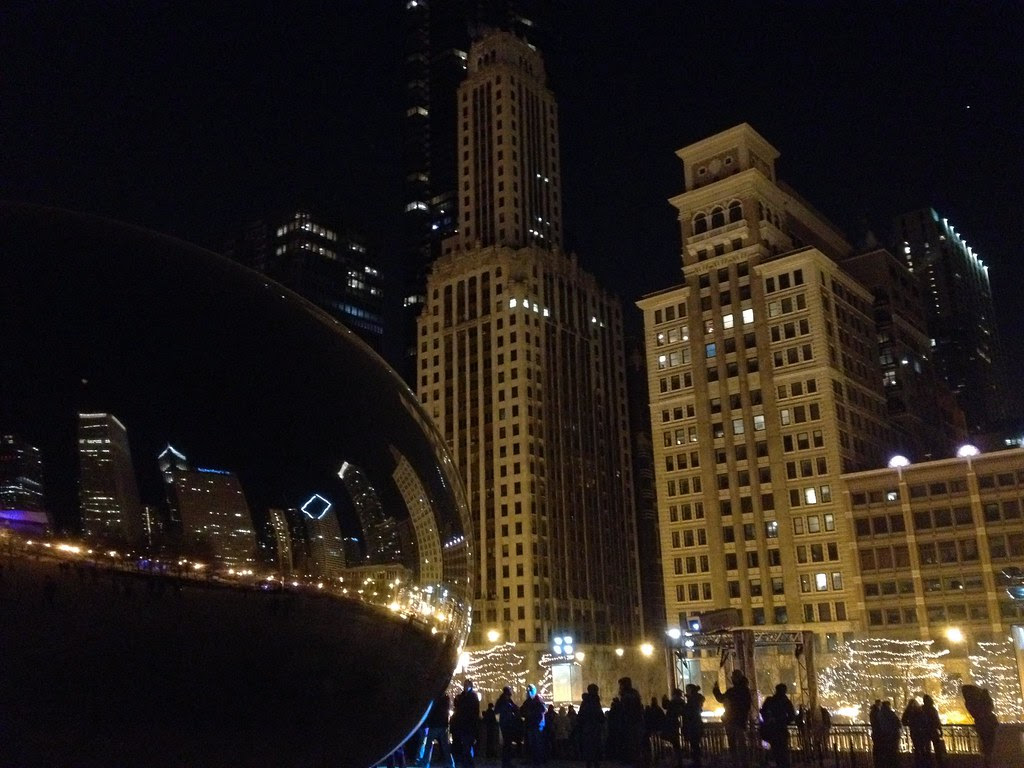 The Bean - Windy City - See Highlights From Around Chicago, Illinois! (via Wading in Big Shoes)