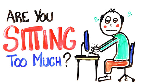 Are you sitting too much? Watch this video to get you moving. Before you see a…
