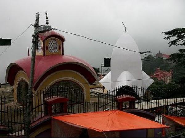 शिमला तस्वीरें - काली बारी मंदिर - मंदिर का दृश्य