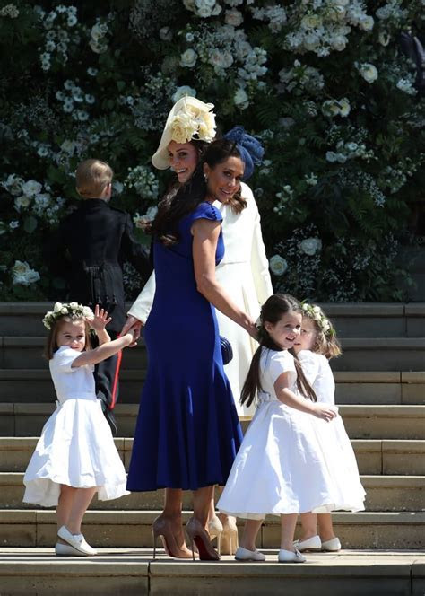 Kate Middleton's Mom Moments at the Royal Wedding 2018