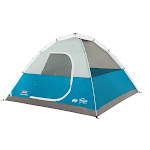 Coleman Longs Peak 6-Person Fast Pitch Dome Tent, White/Blue
