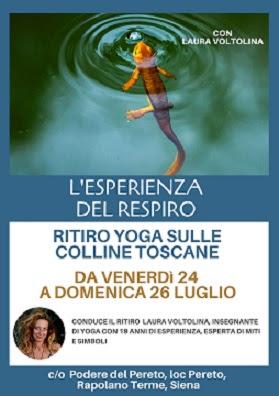 L'Esperienza del Respiro - ritiro Yoga in Toscana