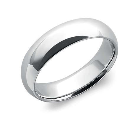 Comfort Fit Wedding Ring in Platinum (6mm)   Blue Nile