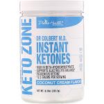 Divine Health Dr Colbert's Keto Zone Instant Ketones Powder, Coconut Cream - 9.25 oz canister
