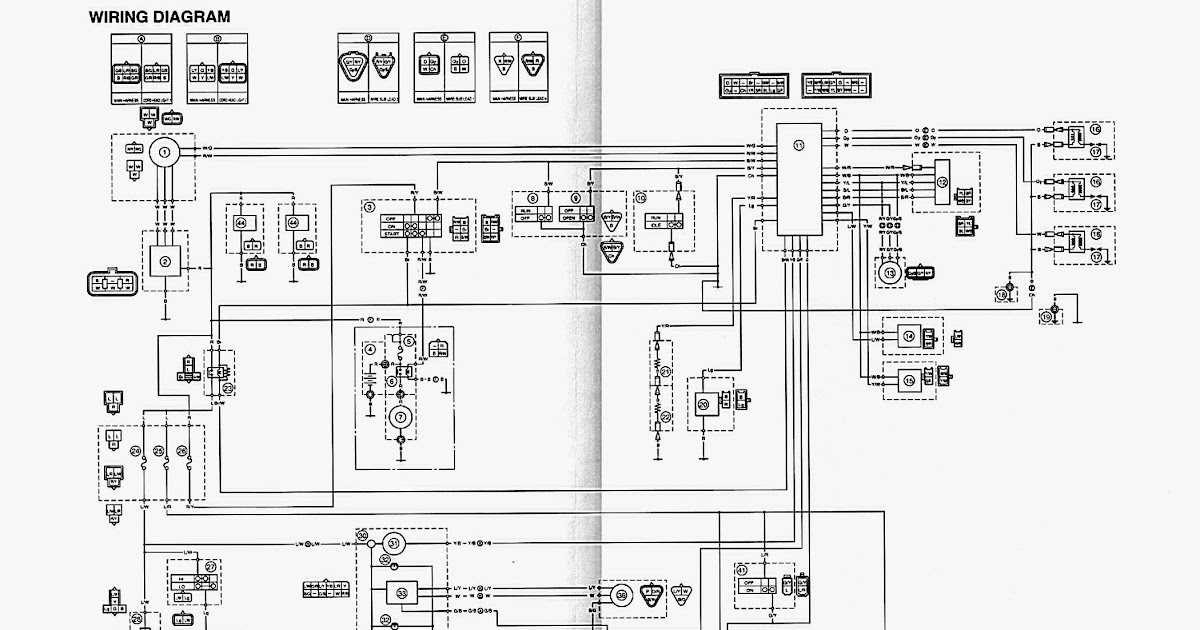 Yamaha Snowmobile Wiring Diagram - knoefchenfee