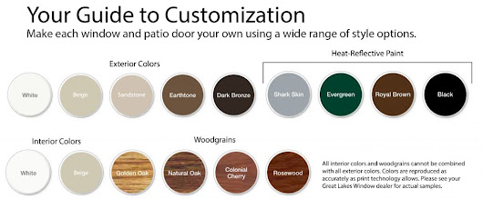 Customizing Your Home with Exterior Window Colors - Great Lakes Window