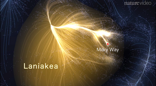 Welcome To Our New Galactic Supercluster Home: Laniakea | The Skeptics Guide to the Universe
