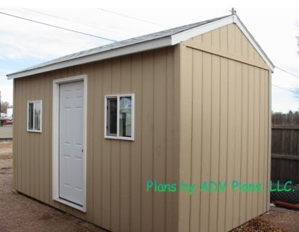 Complete Shed Plans 8 X 12 Dame Outdoor