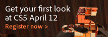 Adobe CS5 Launch - First look April 12