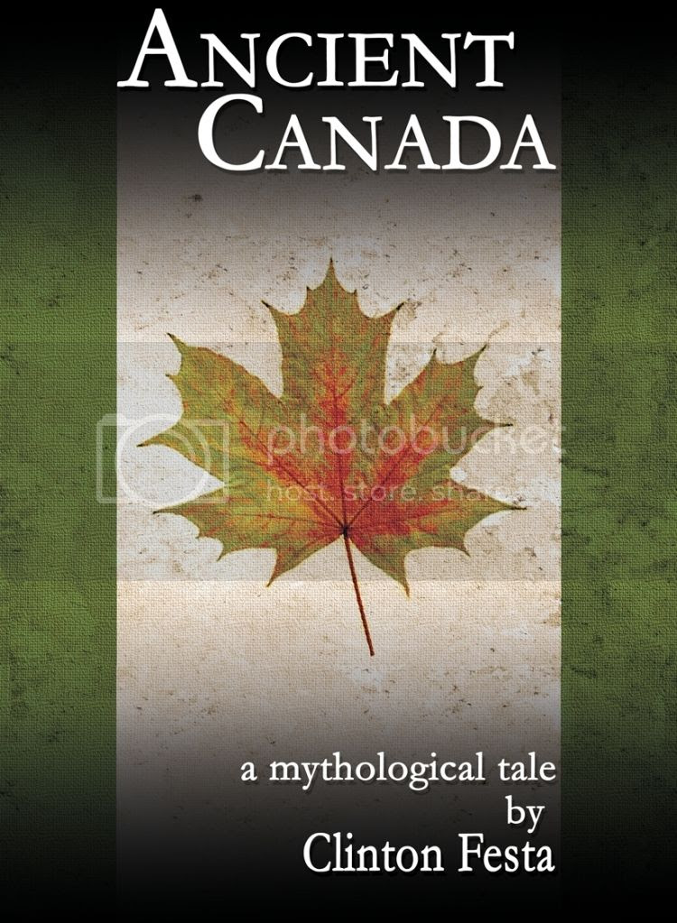 Ancient Canada Book Pic, Pic for book review and media kit. Full Moon Bites Tours.