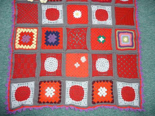 Close up of 'SIBOLETTES' Squares!