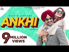 Ankhi   (Full HD)   Rajvir Jawanda   Desi Crew   New Punjabi Songs 2020   Jass Records