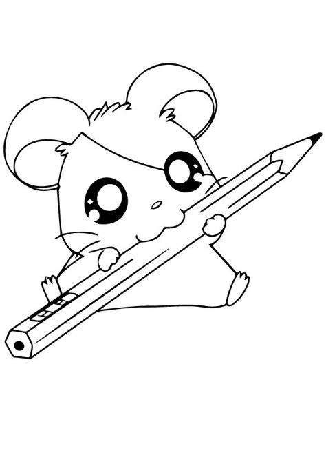 hamster coloring pages  toddler  love