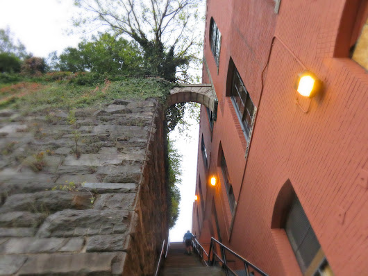 The Exorcist Steps in Georgetown Washington DC - Bella Vida by Letty