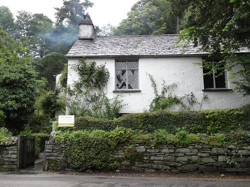 The front of Dove Cottage