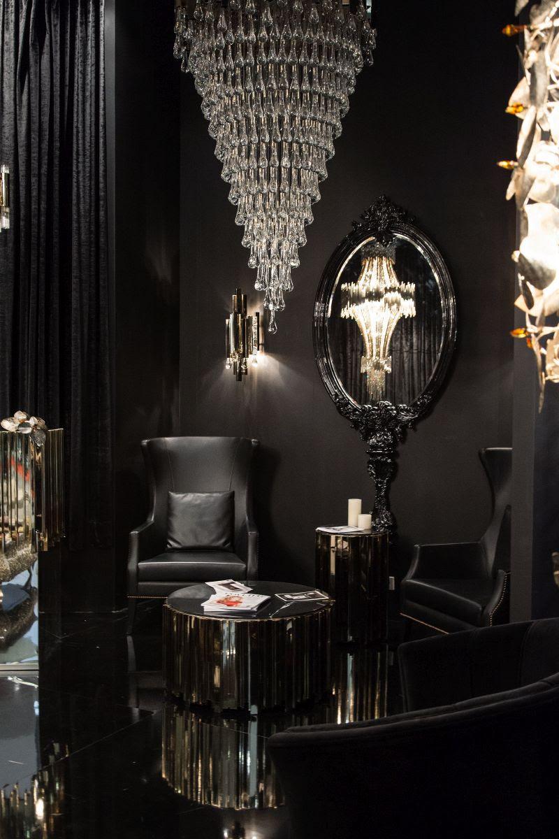 25 Black Living Room Design Ideas - Decoration Love