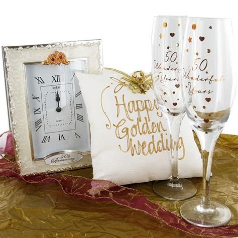 1000  ideas about Golden Wedding Anniversary Gifts on