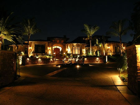 Fairbank Ranch Estates Landscape Lighting by Artistic Illumination