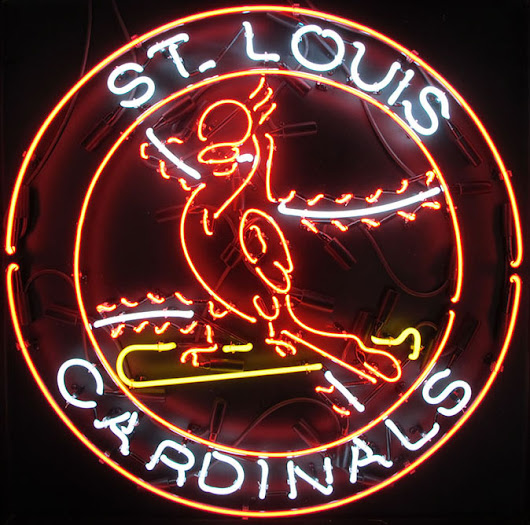 St. Louis Cardinals Neon Signs