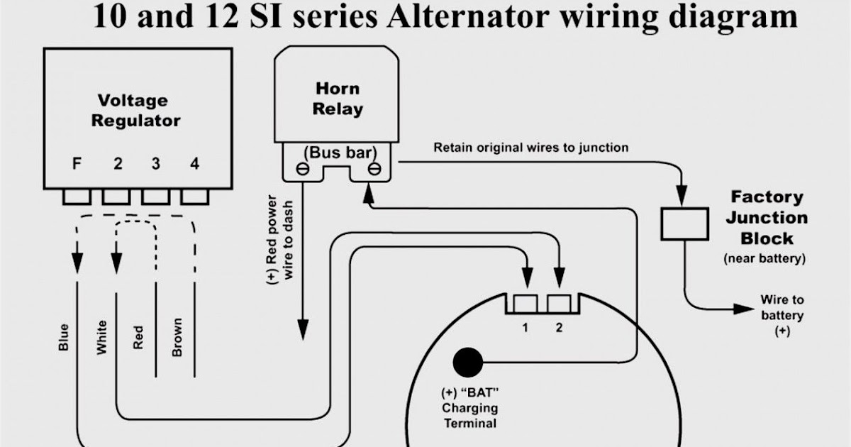 1971 Ford Mustang Alternator Wiring Diagram