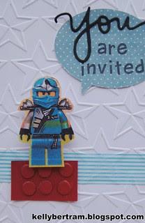 Lego Ninjago Party Invite