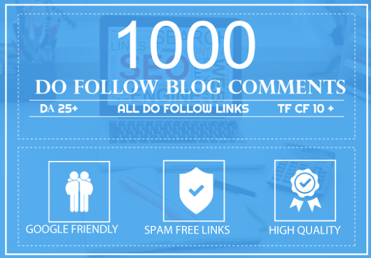 I will build 1000 do follow blog comments