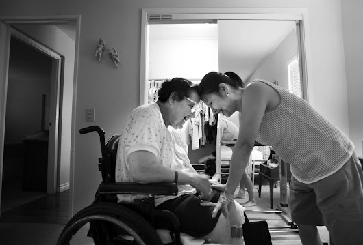 Nearing death, two people offer a journalist and caregiver life lessons