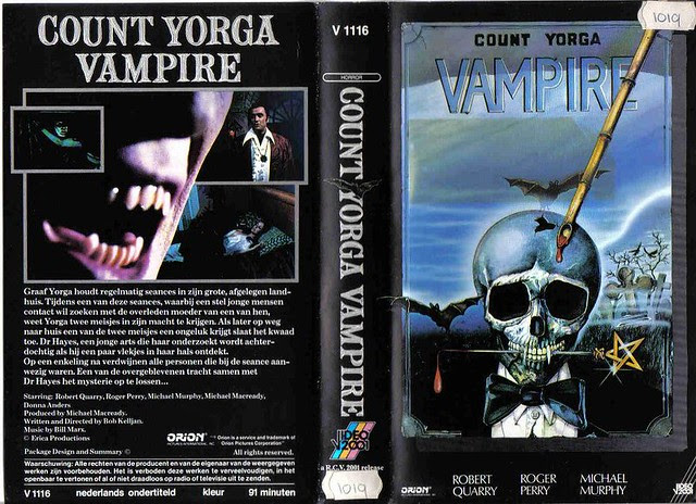 Count Yorga - Vampire (VHS Box Art)