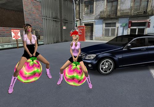 Bouncy girls