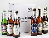 ドイツの輸入ビール6本 飲み比べギフトセット 【ヴァルシュタイナー、ベックス、ビットブルガーピルス、ケーニッヒ、ガッフェルケルシュ】 専用ギフトボックスでお届け