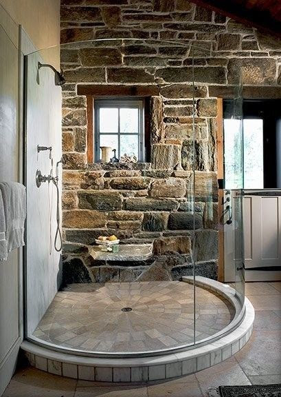33 Sublime, Super-Sized Showers You Should Begin Saving Up For | House, Future and Bath