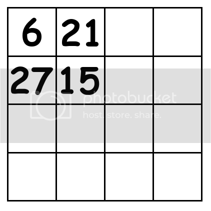 4 by 4 grid Puzzle 2