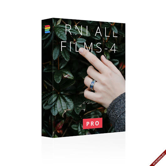 RNI All Films 4.0 Pro - Màu film cho Lightroom và Photoshop [122$]