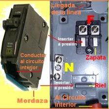 Curso de instalaciones el ctricas tema 31 elecci n del centro de carga y pastillas - Como saber si un coche tiene cargas ...