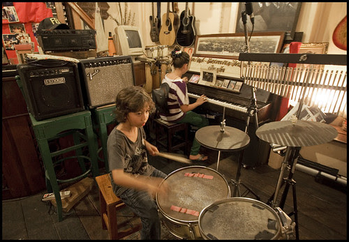 Our kids making music