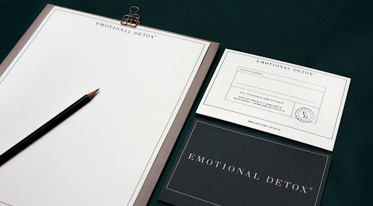 Graphic Design and Branding by Livia Ritthaler for Emotional Detox