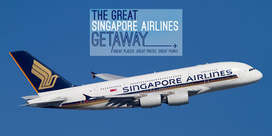 Singapore Airlines Newest Promotions for 2017