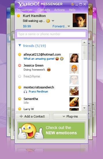 Yahoo Messenger9
