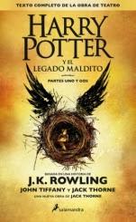 Harry Potter y el legado maldito J. K. Rowling, John Tiffany, Jack Thorne