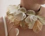 Bell Flowers- necktie- necklace