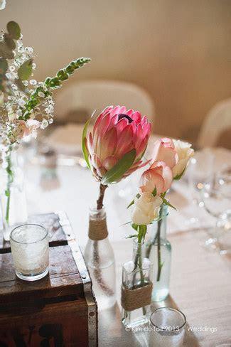 Protea and Rustic Fynbos Inspired Wedding, Langverwagt