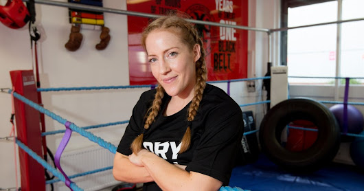 Kickboxing champion Nicola Kaye reveals combat ambitions at GLORY 54