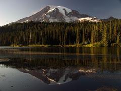 Mount Rainier and Reflection