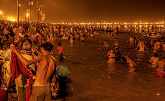 Kumbh Mela 2019 Allahabad India | Japji Travel Blog