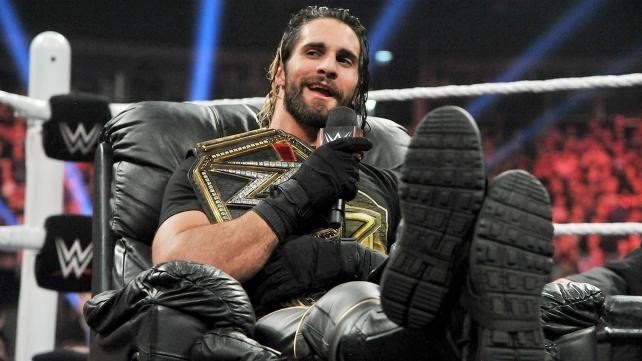 Seth Rollins,Zahra Schreiber and Owner Of Picture Andrea