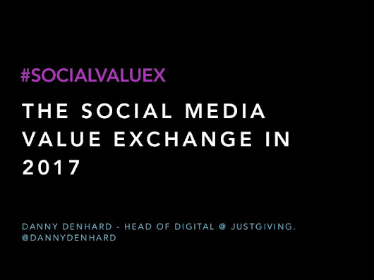 The CMO Social Media Value Exchange