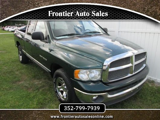 Used 2002 Dodge Ram 1500 SLT Quad Cab Short Bed 2WD for Sale in Brooksville FL 34613 Frontier Auto Sales