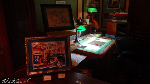 Disneyland Resort, Disneyland, Main Street U.S.A., Disney Gallery, Ink and Paint, Department