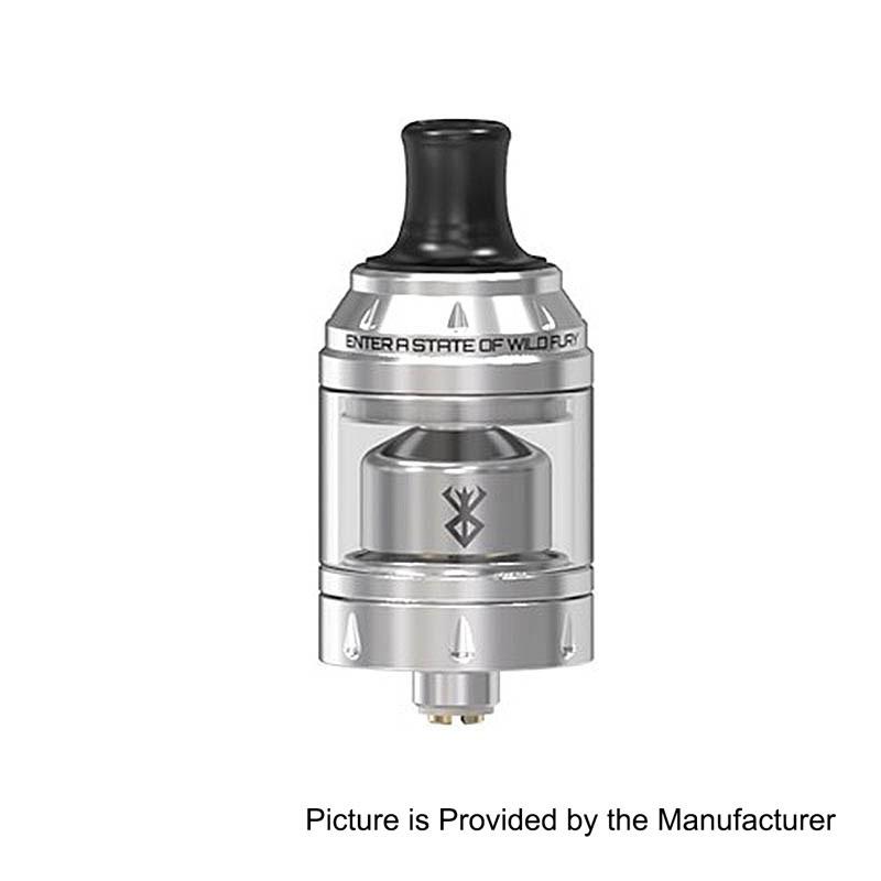 Authentic Vandy Vape Berserker Mini MTL RTA Silver 2ml 22mm Tank