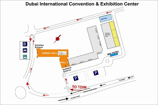 Location Map of Dubai International Convention Centre,Dubai International Convention Centre Location Map,Dubai International Convention Centre Accommodation Destinations Attractions Hotels map